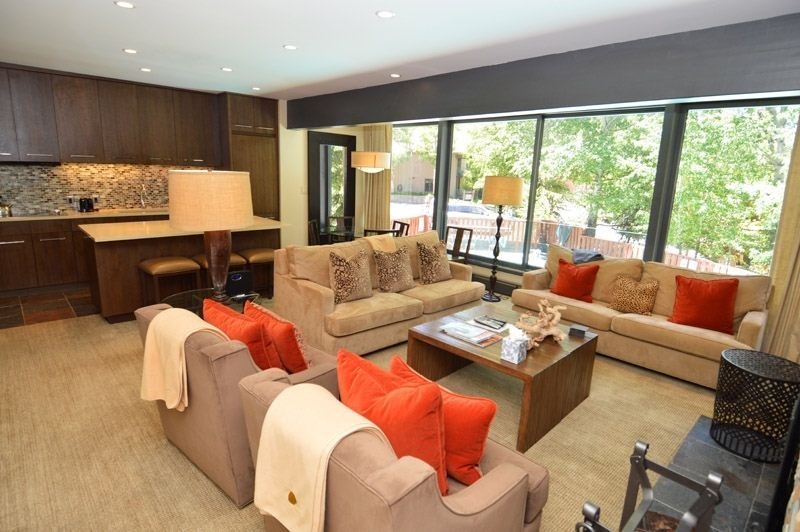 living-1.jpg - Durant Condominiums Unit D1 - Aspen - rentals