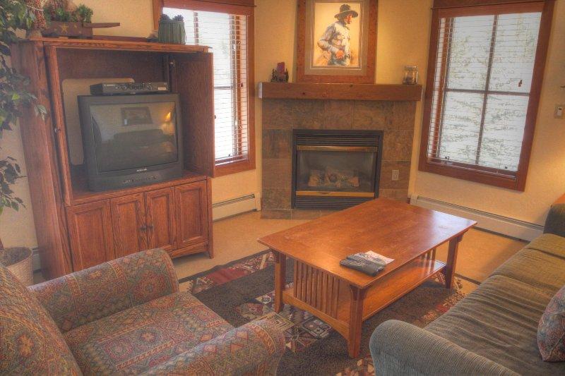 "SkyRun Property - ""201 Oro Grande"" - Living room - 201 Oro Grande - Keystone - rentals"