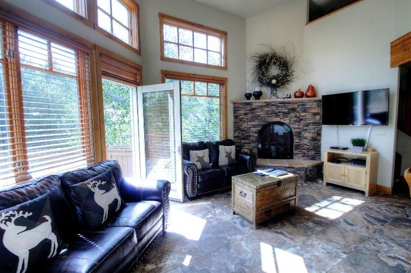 "SkyRun Property - ""18 Autumn Brook"" - Living room - 18 Autumn Brook - Keystone - rentals"