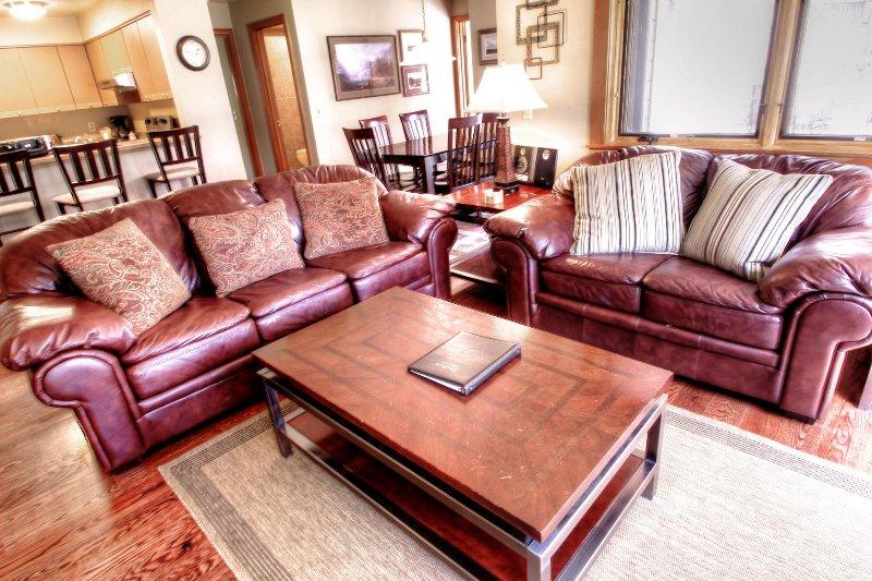 """SkyRun Property - """"1633 Quicksilver"""" - Living Room - 1633 Quicksilver - Dillon - rentals"""