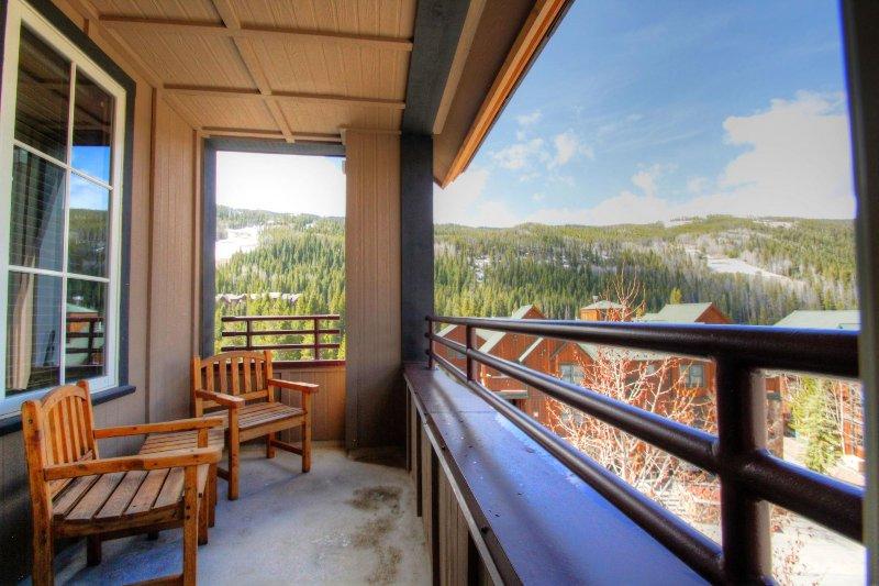 "SkyRun Property - ""8523  Dakota Lodge"" - Patio - 8523  Dakota Lodge - Keystone - rentals"