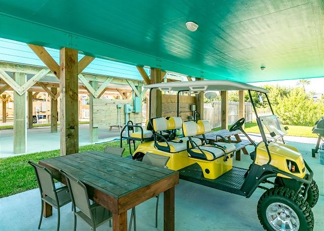 Shore Beats Work: BRAND NEW!  NFL SUNDAY TICKET, Grill, *Golf Cart Included - Image 1 - Port Aransas - rentals