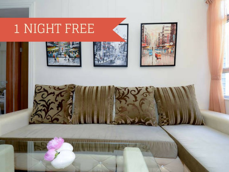 A minimum of 6 nights stay and you will get 1 night for free! - The iCandy*MACAU FERRY*MTR*OPEN VIEW*3bed1bath*Big*Discount* - Hong Kong - rentals