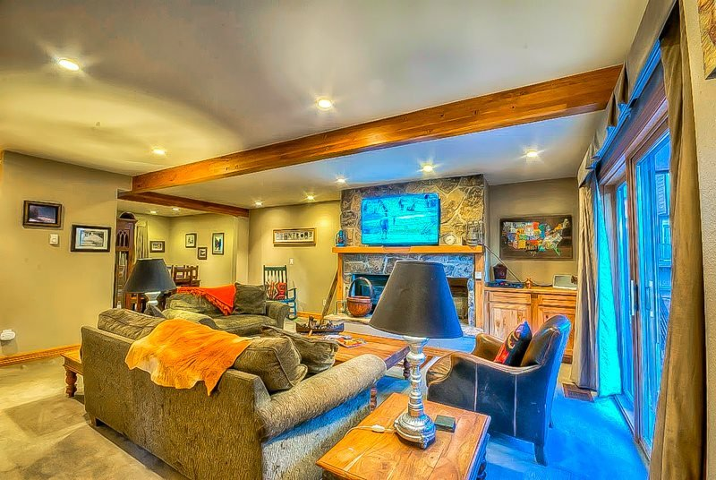 Spacious Townhome With Private Hot Tub And Private Sauna - Image 1 - Steamboat Springs - rentals