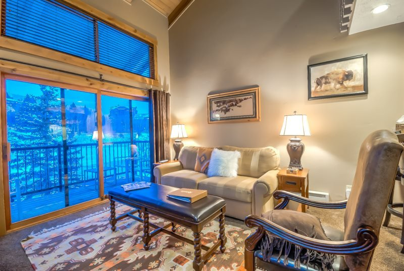 Beautiful studio plus loft with vaulted ceilings on the mountain. - Image 1 - Steamboat Springs - rentals