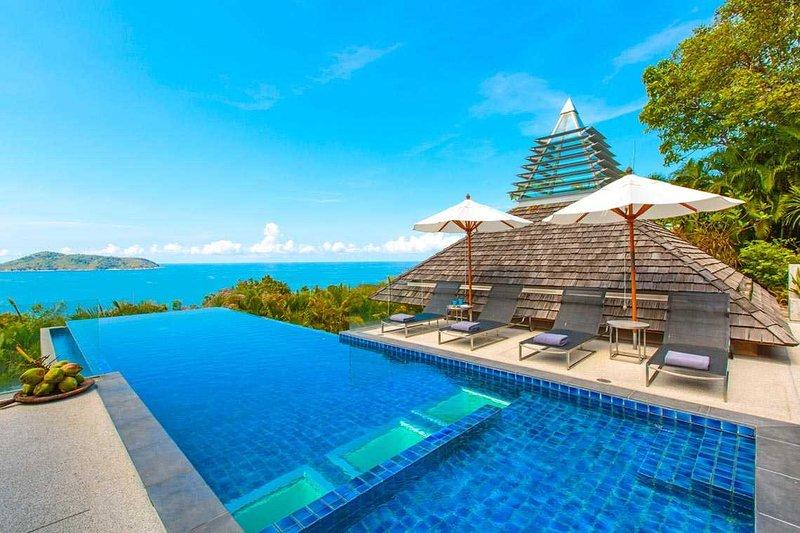 Panoramic Sea View, Beside The Beach - PSR08 - Image 1 - Rawai - rentals