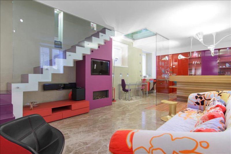 Modern, stylish 2bd in city center - Image 1 - Napoli - rentals