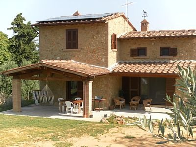 Tuscan home in Etruscan landscape (available for long term rentals) - Image 1 - Volterra - rentals