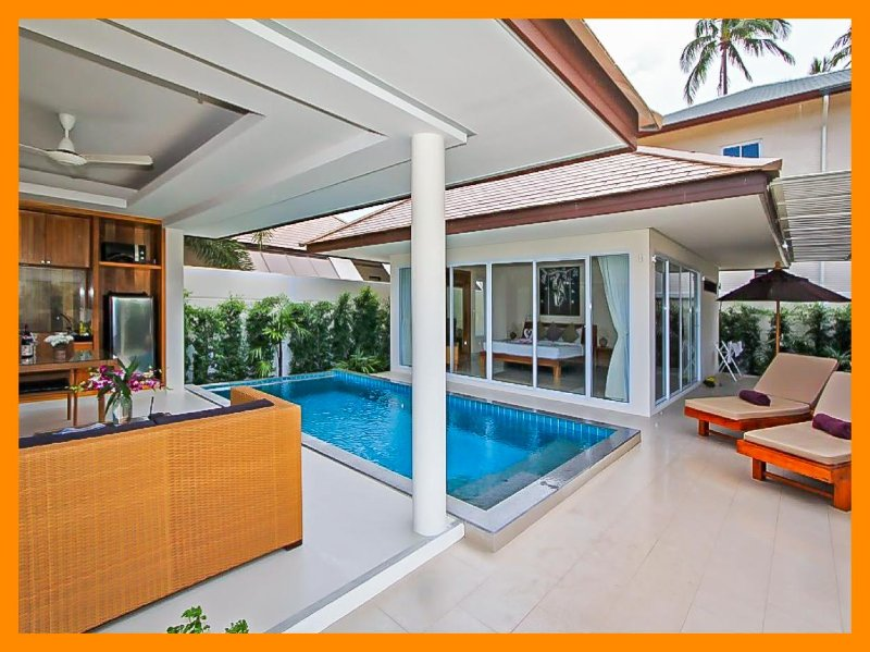 1215 - Best value one bedroom with private pool - Image 1 - Plai Laem - rentals