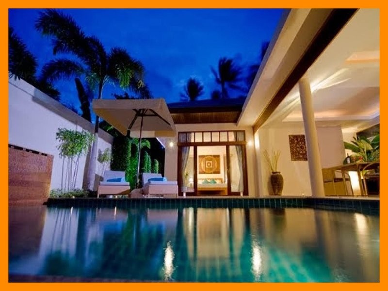 2088 - Tropical living with private pool sleeps 4 - Image 1 - Plai Laem - rentals