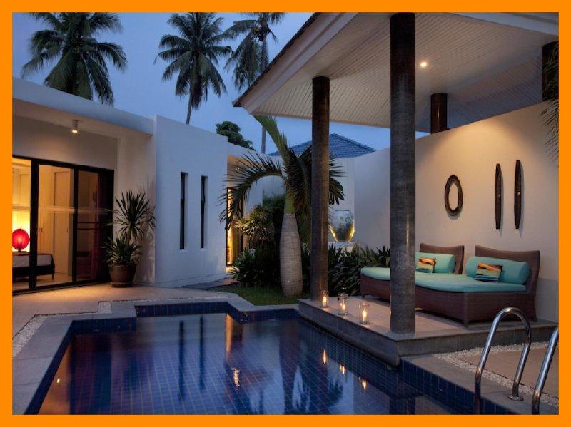 3217 - Walk to beach swim play drink eat sleep walk to villa jump in pool - Image 1 - Choeng Mon - rentals