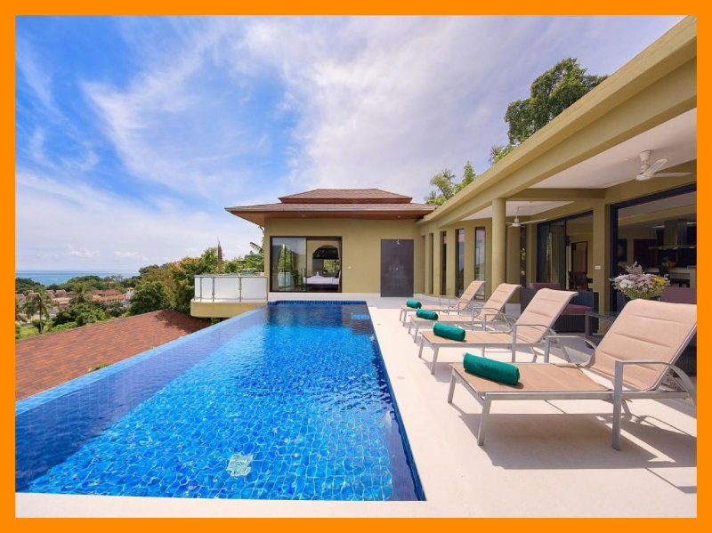4224 - Infinity edge pool and panoramic seaviews - Image 1 - Lamai Beach - rentals