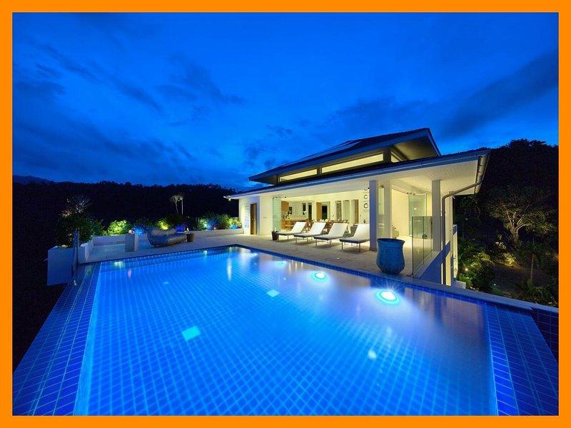 5227 - Infinity edge pool and fantastic views - Image 1 - Mae Nam - rentals
