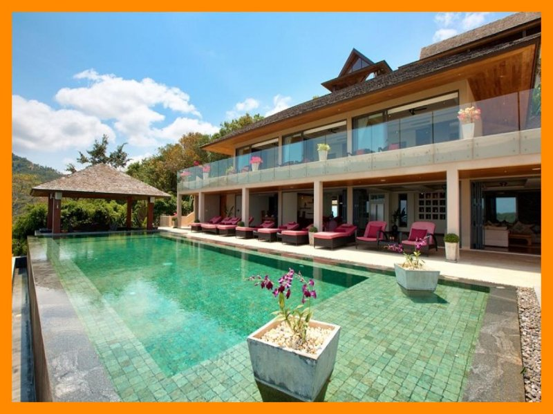 5229 - Private infinity pool and panoramic seaviews - Image 1 - Mae Nam - rentals
