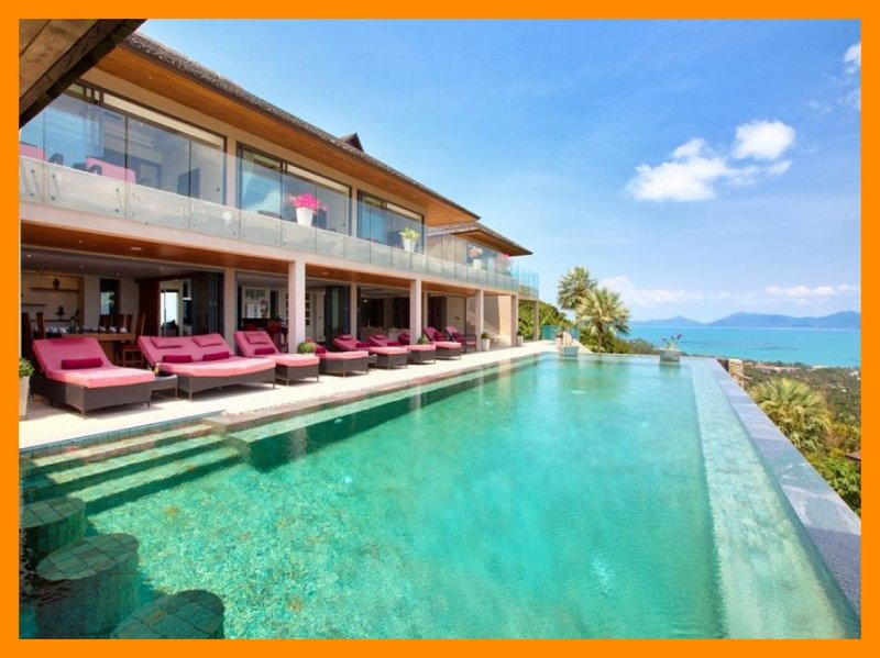 3229 - Infinity edge pool and panoramic seaviews - Image 1 - Mae Nam - rentals