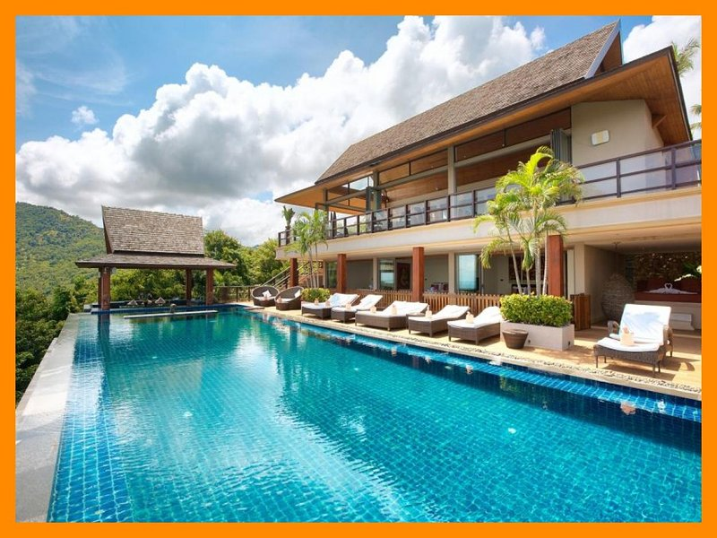 5230 - Private infinity pool and panoramic seaviews - Image 1 - Mae Nam - rentals