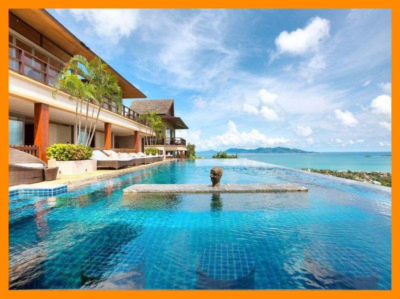 3230 - Infinity edge pool and panoramic seaviews - Image 1 - Mae Nam - rentals