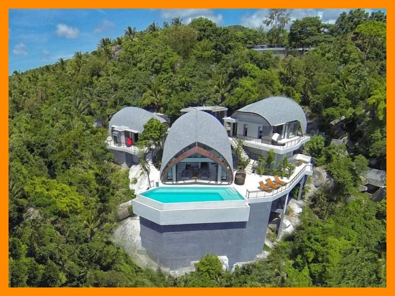 4231 - Unique and stylish with infinity pool and seaviews - Image 1 - Chaweng - rentals