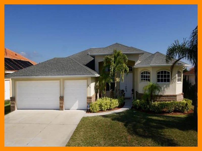 Comfortable 3 bedroom vacation home- Single family- Pet friendly- Heated pool- Beautiful lanai - Image 1 - Cape Coral - rentals