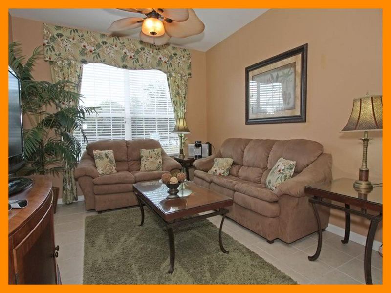 1.5 Miles to Disney, 1st floor, 3 bedroom 2 bathroom lovely and inviting condo in Windsor Hills Resort - Image 1 - Four Corners - rentals