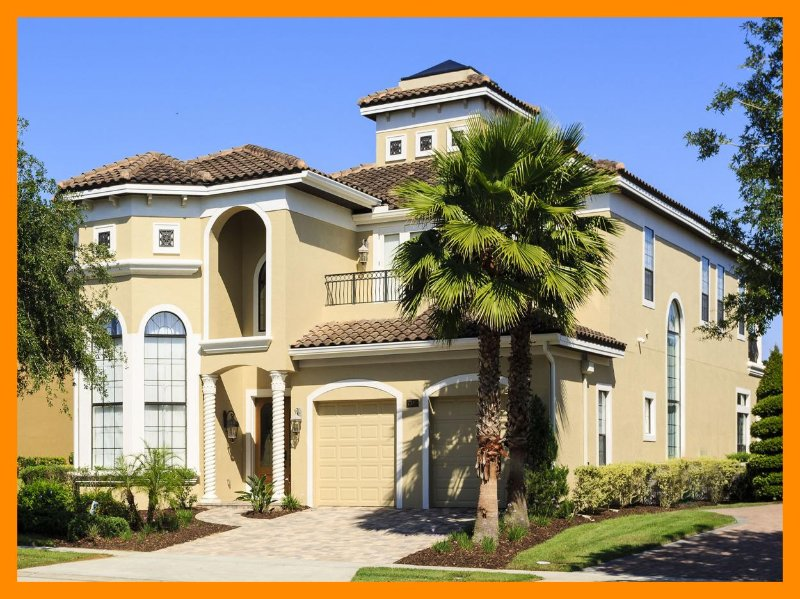 Luxury 5 bed home just minutes from Disney, Games room, golf views, pool and spa - Image 1 - Reunion - rentals