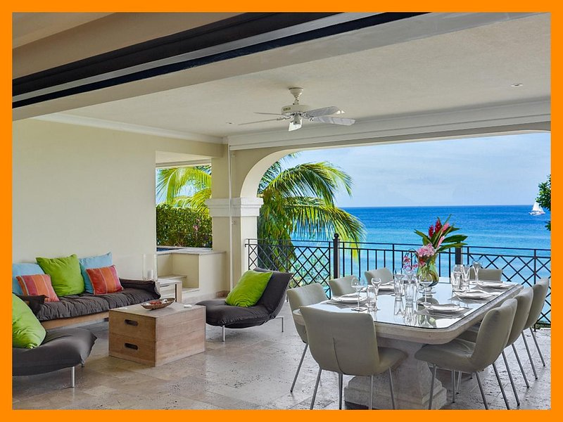 Luxury 3 Bedroom Villa with Direct Beach Access - Image 1 - Lascelles Hill - rentals