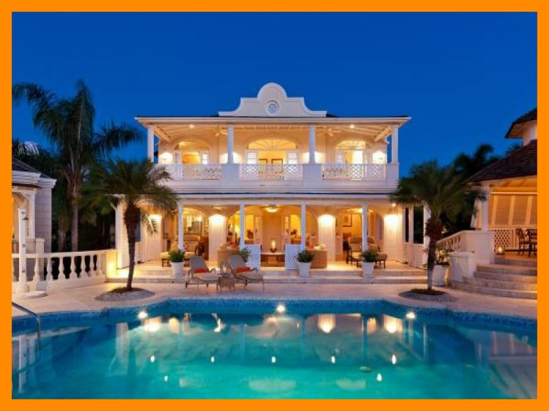 Luxury 5 Bed Villa with Pool and Gym - Image 1 - Saint Lucy - rentals