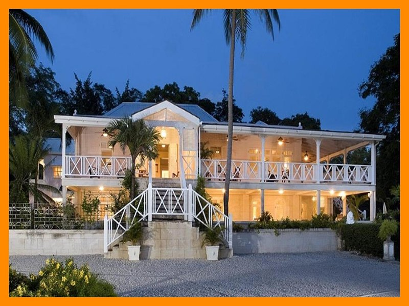 Stunning 8 bedroom house, beautiful surroundings . Outdoor dining and balcony - Image 1 - Saint Michael - rentals