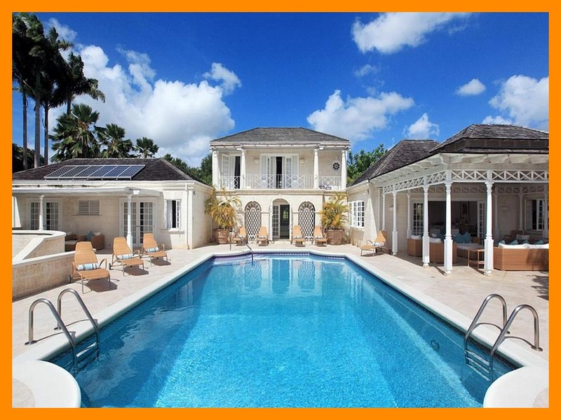 Luxury 5 Bed Home with Sea Views and Infinity Pool - Image 1 - Sandy Lane - rentals