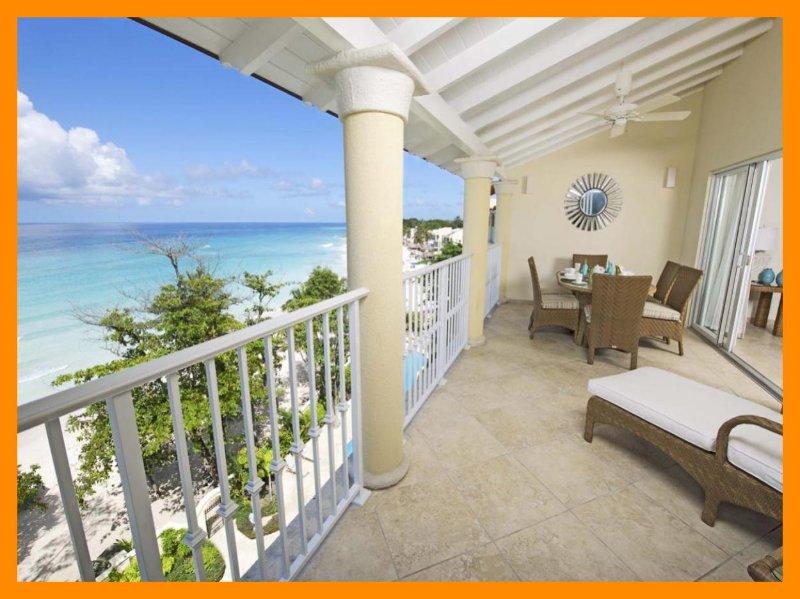 Amazing 3 Bed Beachfront Condo with Ocean Views - Image 1 - Dover - rentals