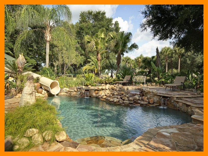 Private Gated Mansion and Activity Park, set on a 62 acre Island! Swimming pool and games room - Image 1 - Clermont - rentals