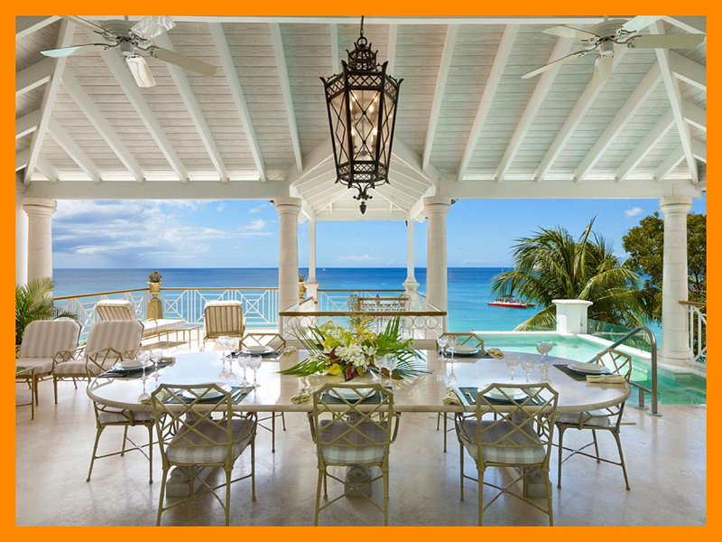 Stunning 4 Bed Penthouse Apartment - Private Pool - Image 1 - Paynes Bay - rentals
