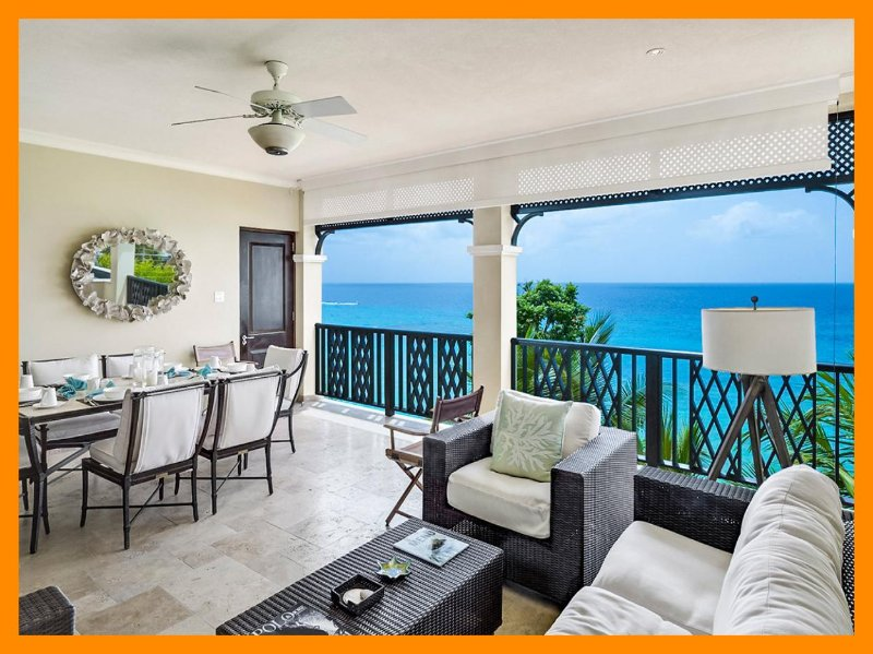 Luxury 3 Bed Beachfront Condo - Pool/Gym - Image 1 - Lascelles Hill - rentals