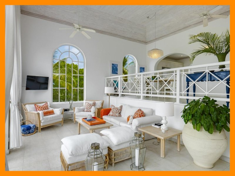 Exceptional villa has been upgraded and offers a terrace with plunge pool, where fairway and Caribbean Sea views can be enjoyed - Image 1 - Westmoreland - rentals
