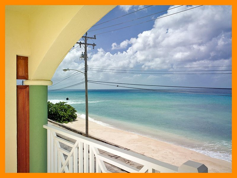 Fantastic 2 bedroom condo overlooking the ocean. Spacious living area with balcony. - Image 1 - Speightstown - rentals