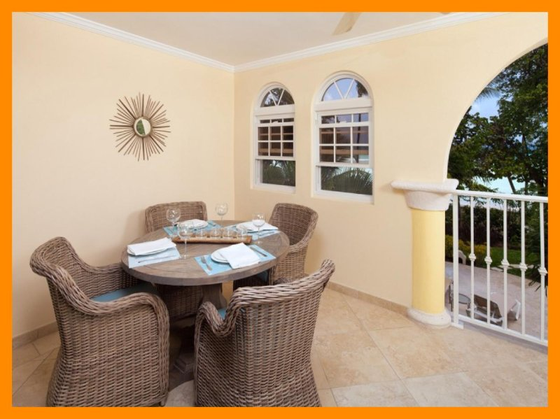 Gorgeous Barbados condo has a unique split level layout. With two beautiful bedroom, two bathroom, open-plan living room, kitche - Image 1 - Dover - rentals