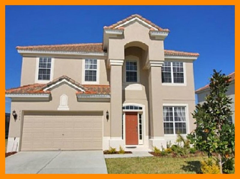Spacious 6 bedroom home with private pool and games room, 2 miles from Disney - Image 1 - Four Corners - rentals