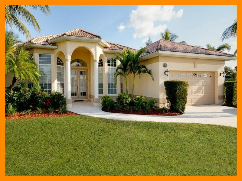 Charming 3 bedroom vacation home- Pool- Amazing views- Pet friendly- Overlooks Waterfront - Image 1 - Cape Coral - rentals
