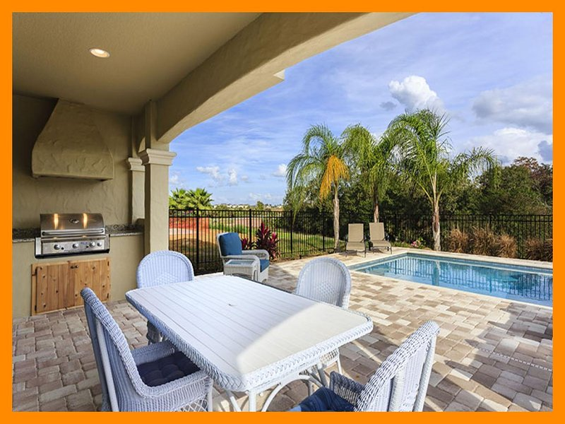 Beautiful 5 bedroom home in Reunion Resort with Swimming Pool, Summer Kitchen and Games Room - Image 1 - Loughman - rentals
