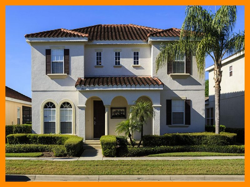A lovely 5 bedroom family home with screened pool, pool saftey fence, games room - Image 1 - Loughman - rentals