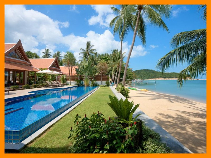 5025 - Beachfront luxury with Thai chef service - Image 1 - Lipa Noi - rentals