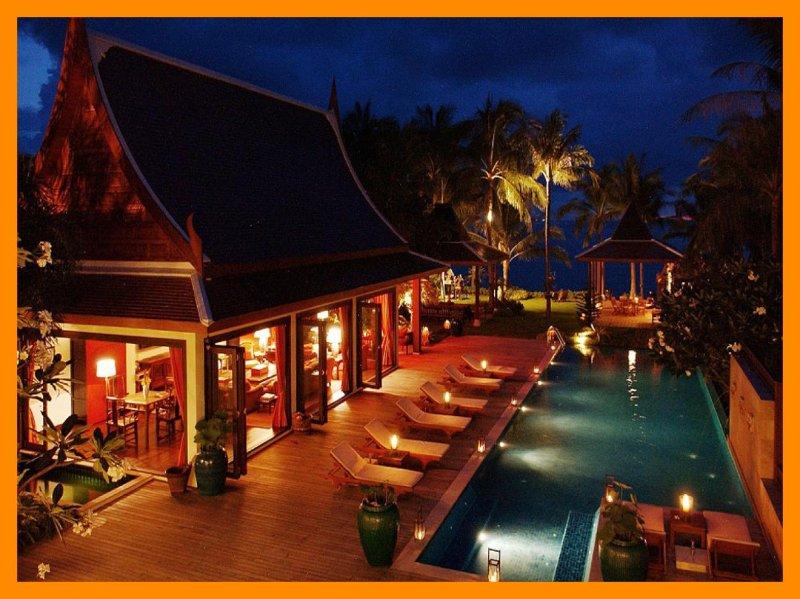 5147 - Beachfront luxury with Thai chef service - Image 1 - Lipa Noi - rentals