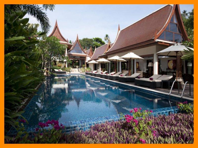 5148 - Beachfront luxury with Thai chef service - Image 1 - Lipa Noi - rentals