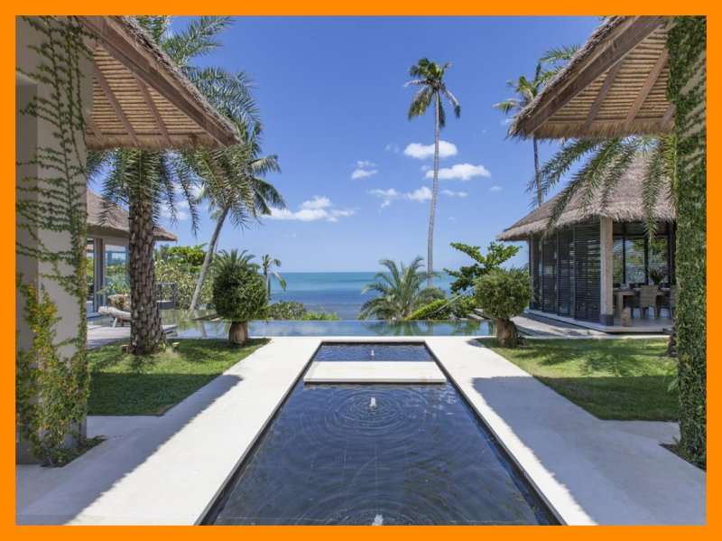 6167 - Beachfront luxury with Thai chef service - Image 1 - Bophut - rentals