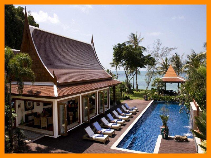 5179 - Beachfront luxury with Thai chef service - Image 1 - Lipa Noi - rentals