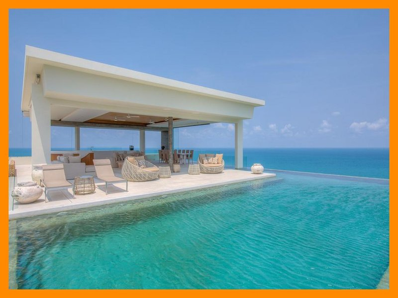 5200 - Unique and stylish with infinity pool and seaviews - Image 1 - Choeng Mon - rentals