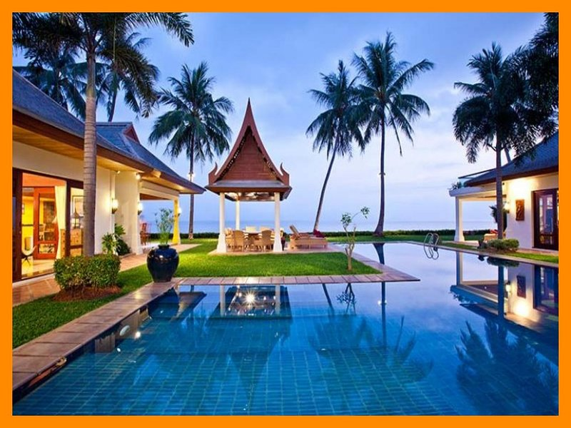 6026 - Beachfront luxury with Thai chef service and shared gym - Image 1 - Mae Nam - rentals