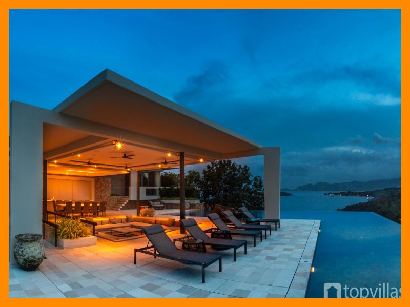 5080 - Unique and stylish with infinity pool and seaviews - Image 1 - Choeng Mon - rentals
