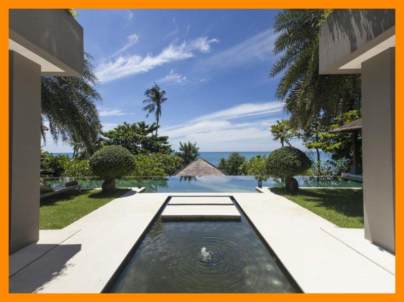 3168 - Beachfront luxury with Thai chef service - Image 1 - Bophut - rentals