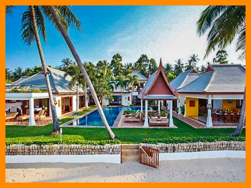 4026 - Beachfront luxury with Thai chef service and shared gym - Image 1 - Mae Nam - rentals